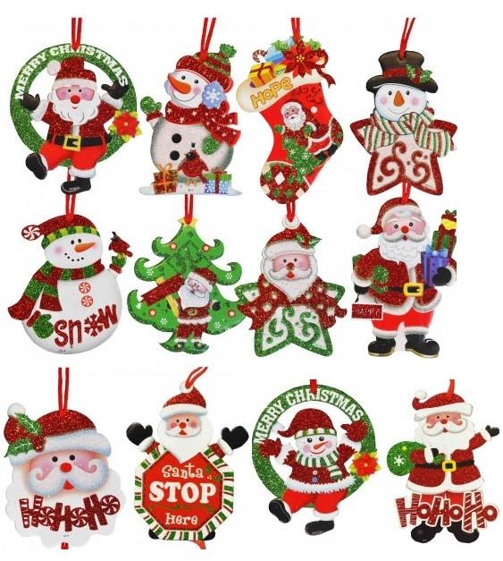 Décoration de Noël à suspendre