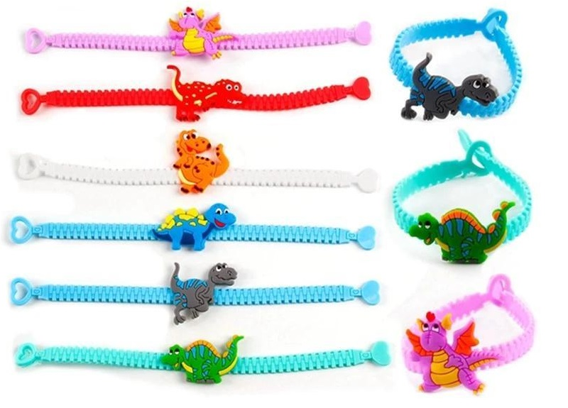 Bracelet Dinosaure Silicone