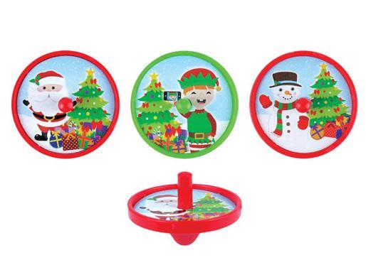 Toupie Décor Noël