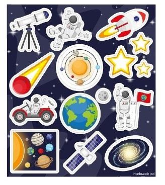 Stickers Espace