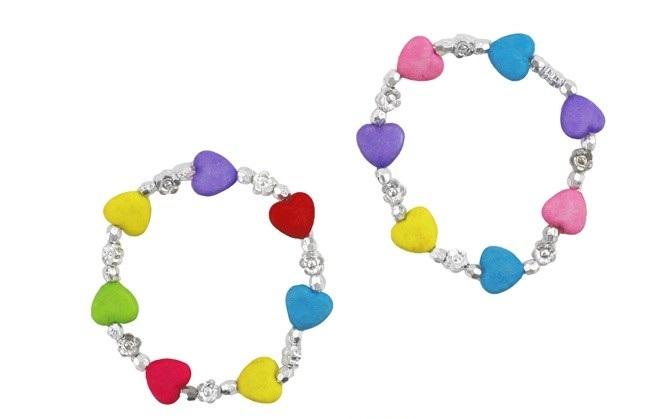 Bracelet Perle Coeurs