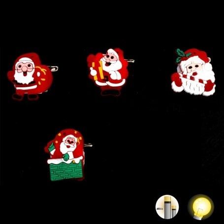 Broche Noël Lumineuse