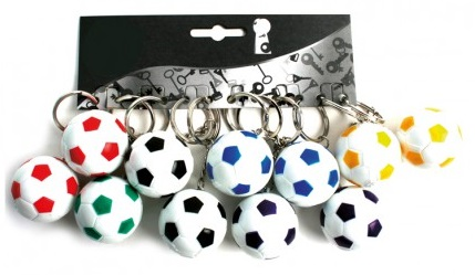 Porte-clé Football Couleur