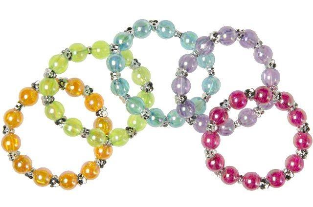bracelets-avec-perles-de-couleurs-unies