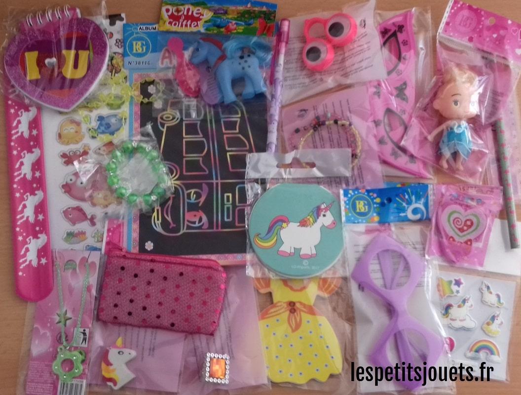 Lot 50 jouets pour filles (0,49€)