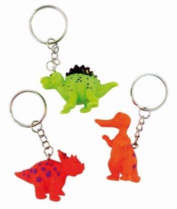 Porte-clé Dinosaure Rigolo