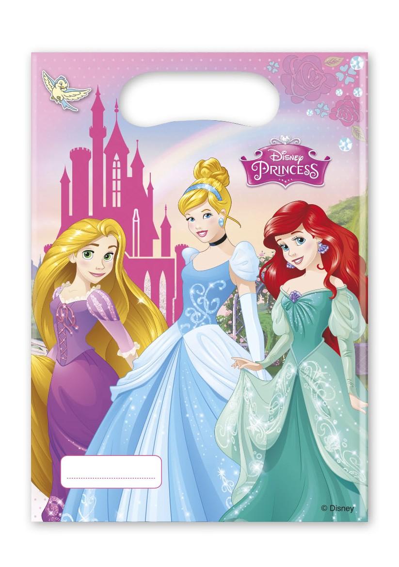 6 sacs de fête Les princesses
