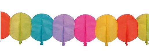 Guirlande de ballons en papier