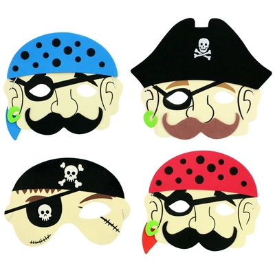 Masque Enfant Pirate Mousse