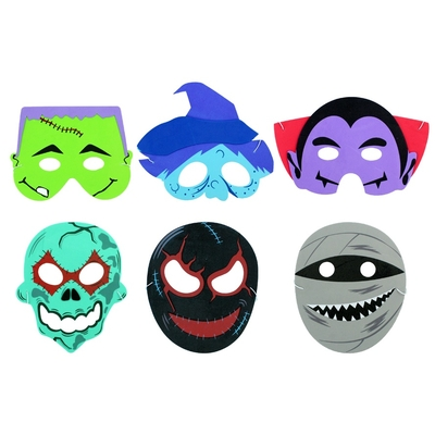 Masque Enfant Halloween Mousse
