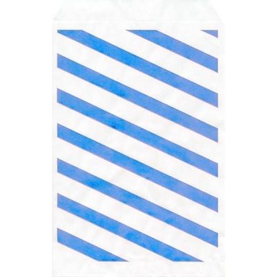 Paquet de 100 Pochettes en Papier Bleu
