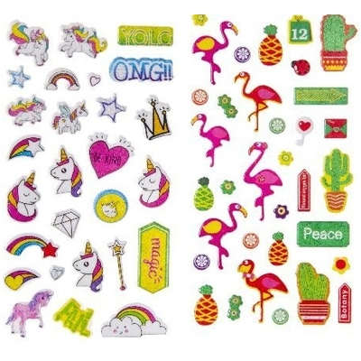 Stickers Licorne ou Flamant rose