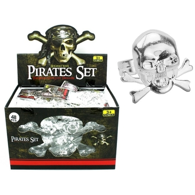 6 Bagues de Pirates