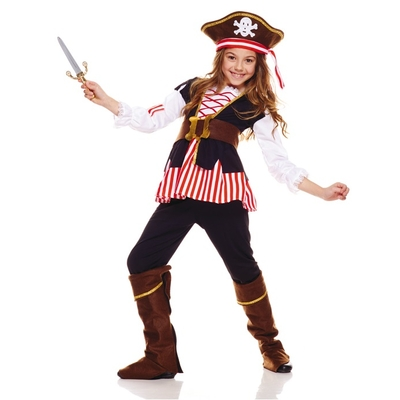 Costume de pirates filles