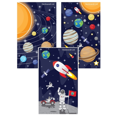 Mini Bloc-note Espace