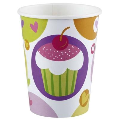 8 Gobelets Cupcakes