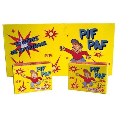 Boîte de 50 Pétards Claque-doigt Pif Paf