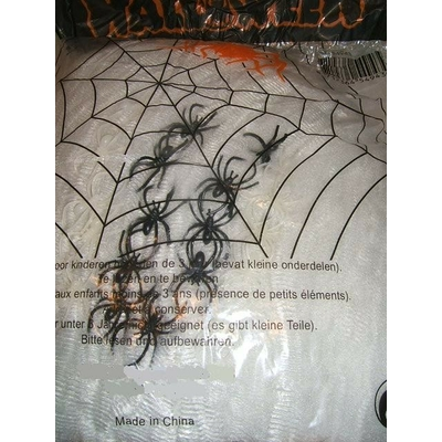 Toile + 25 araignées - 500 grs