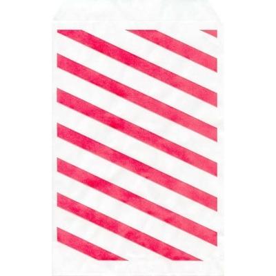 Paquet de 100 Pochettes en Papier Rouge