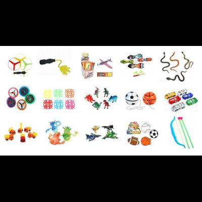 Pack de 90 jouets pour les garçons + 10 jouets offerts
