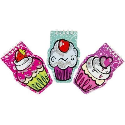 Carnet Fantaisie Cupcakes