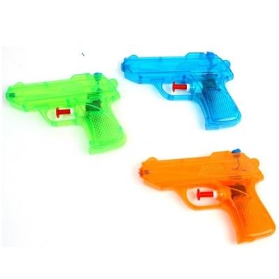 Pistolet à eau transparent 8 cm