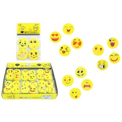 Gomme Jaune Smile x4