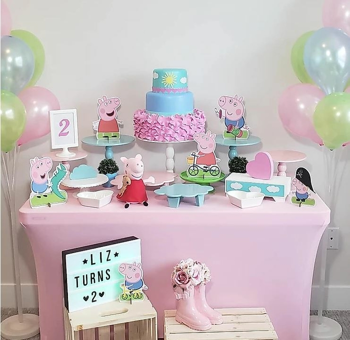 decoration-peppa-pig-anniversaire