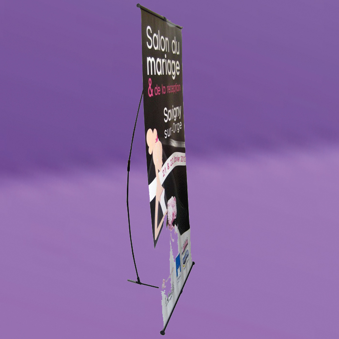 Stand l banner co 100x200cm impression et d lai express for Stand parapluie paris