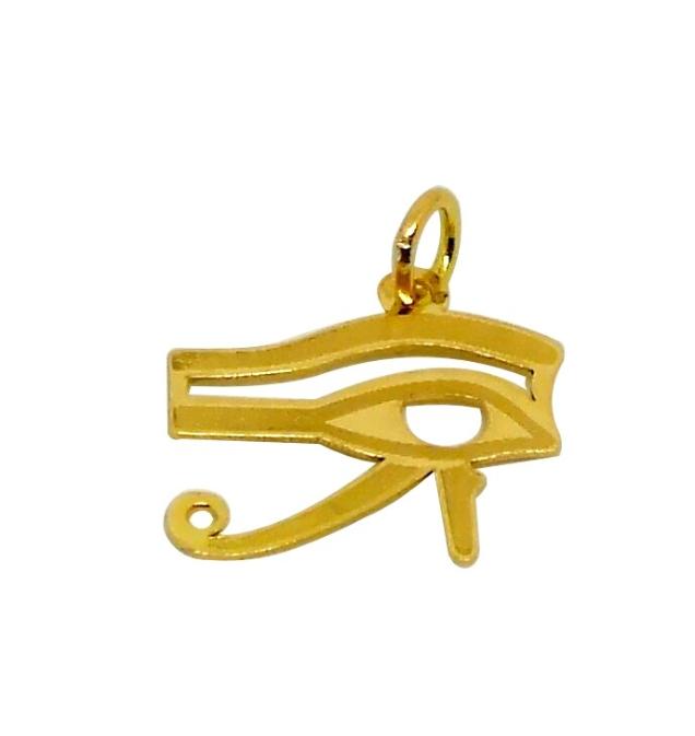 Pendentif Oeil Horus Or