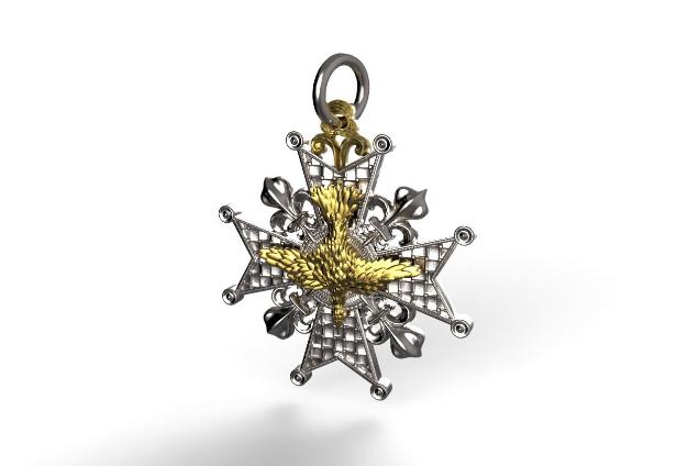 Médaille Ordre du Saint-Esprit