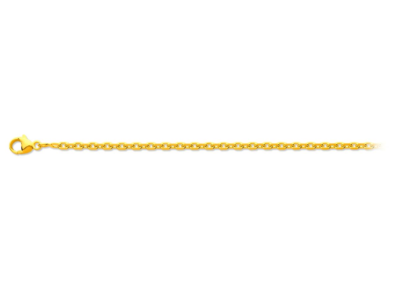 Chaine forçat or 18 K