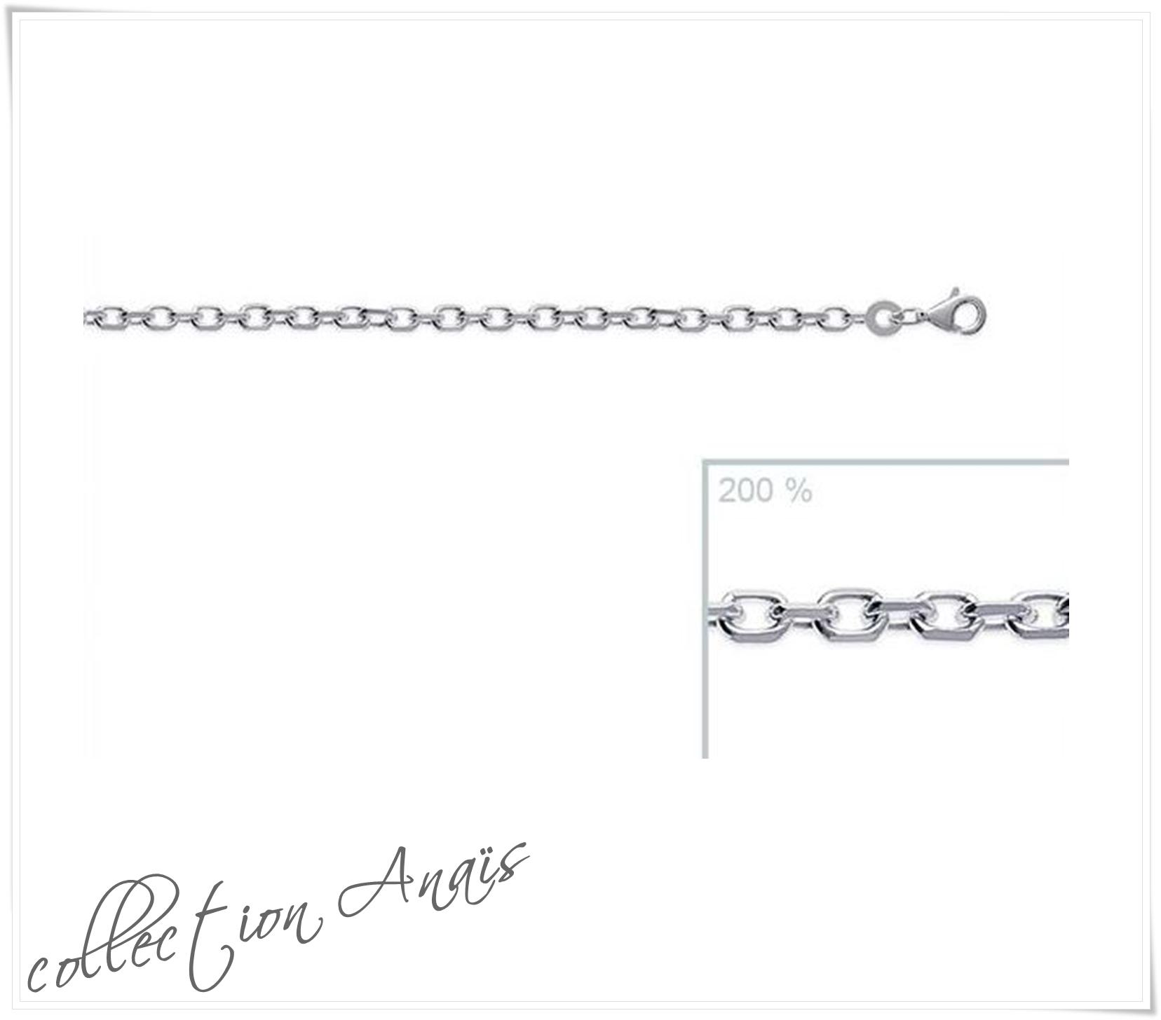 Collier chaîne maille Forçat