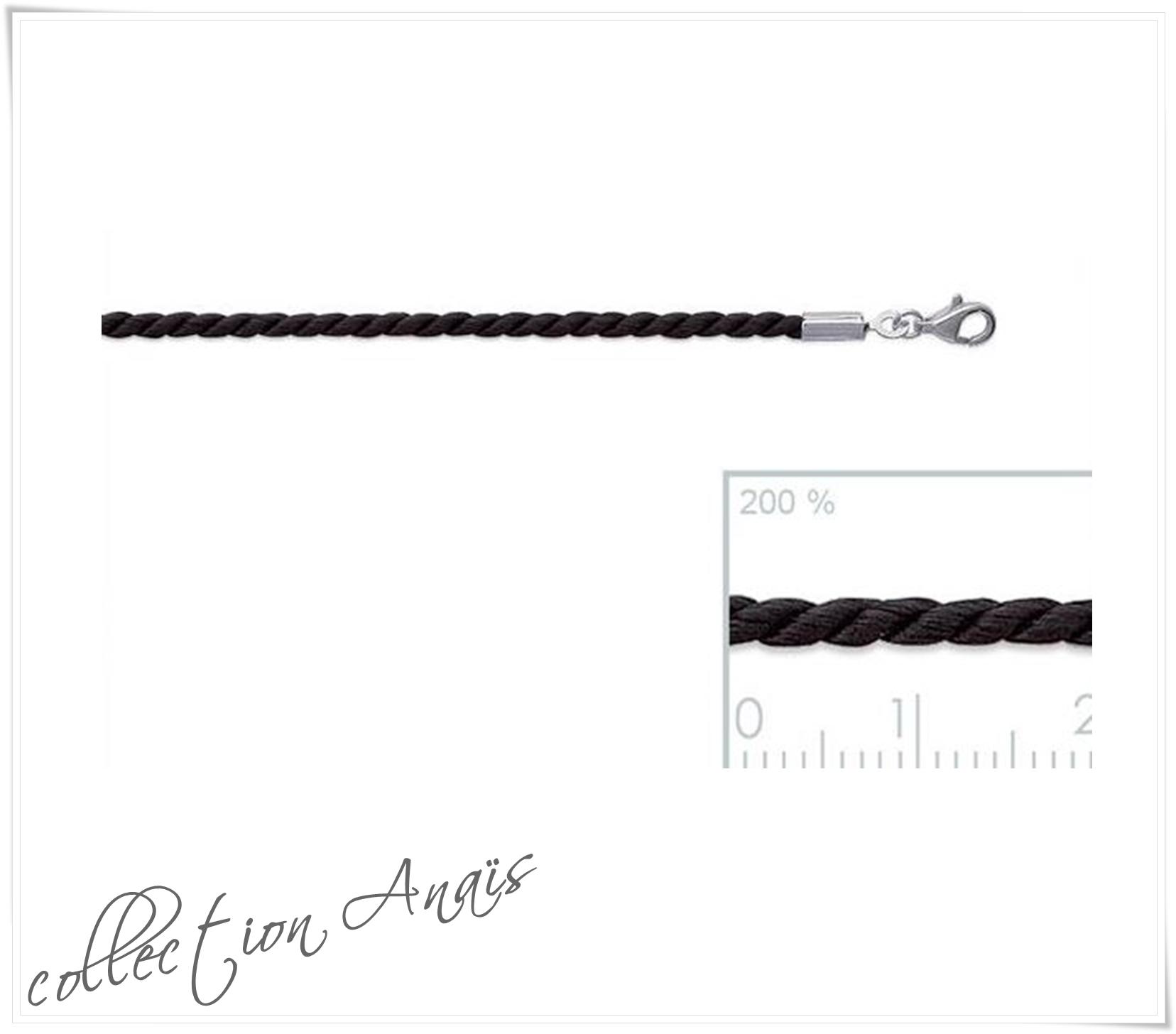 Collier cordon en coton