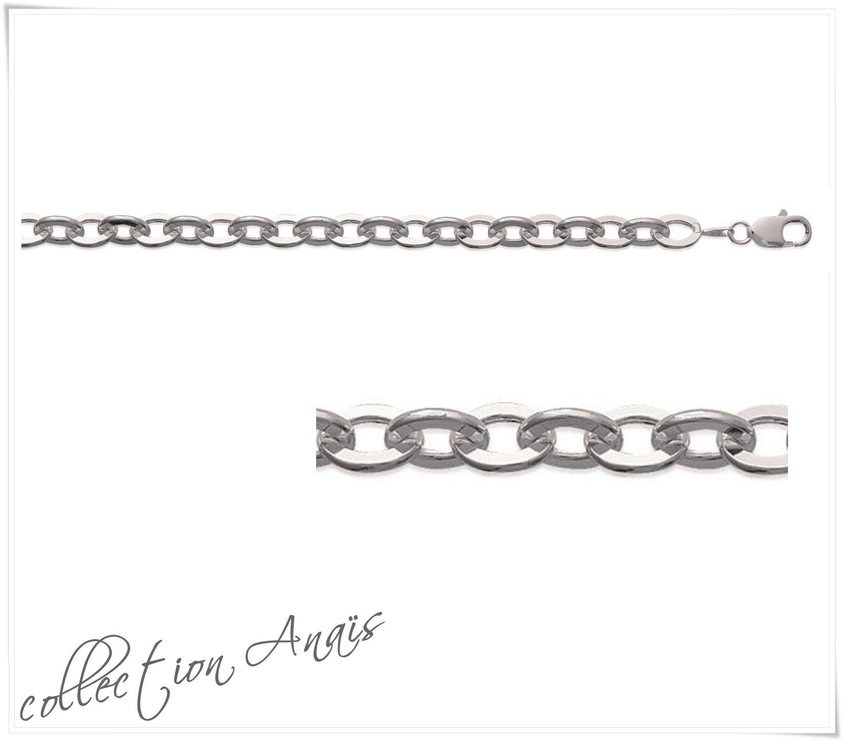Bracelet maille forçat