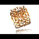 Créateur De Bijoux Alliance Celte Or Et Diamants Modèle 1