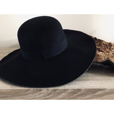 Chapeau Lison Noir