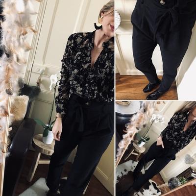 Pantalon Mailyna noir