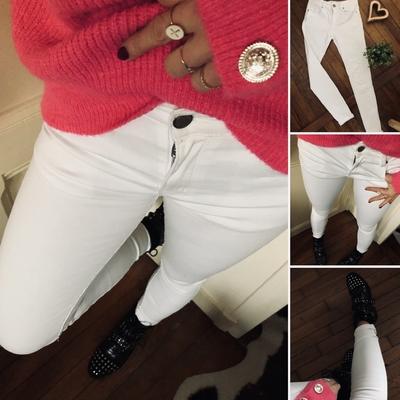 Pantalon Florentine blanc