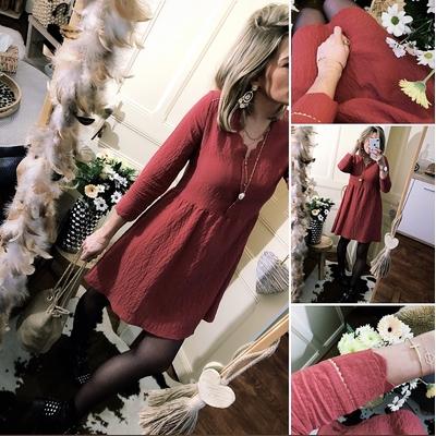 Robe Jenny Terracotta