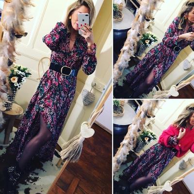 Longue robe Sandra