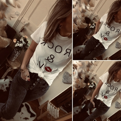 "Tee-shirt ""ROCK & LOVE"""
