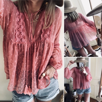 Blouse Coco Pink