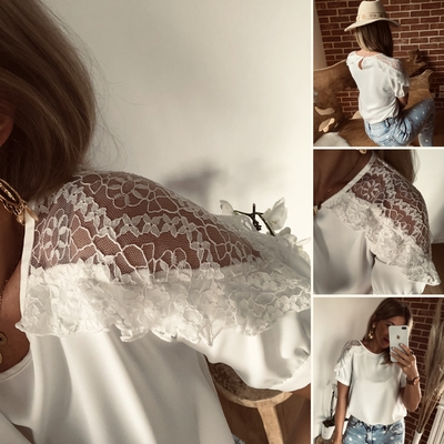 Blouse Sissile blanche