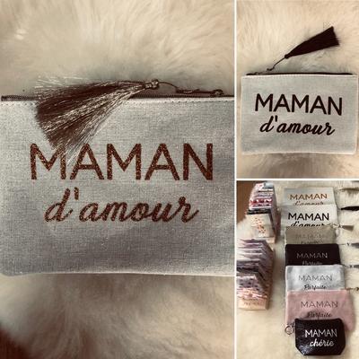 Grande pochette MAMAN D'AMOUR