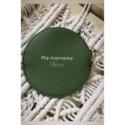 Porte-monnaie «Ma marraine Chérie»