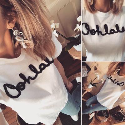 Tee-shirt «Oohlala»