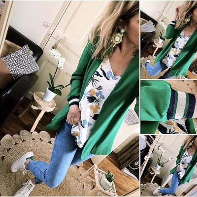 Blazer sportswear vert
