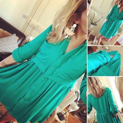 Robe Noanne vert d'eau