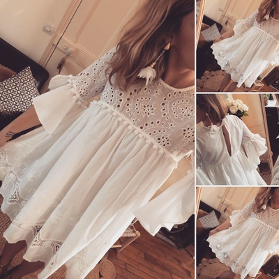 Robe en broderie Anglaise Suzanne